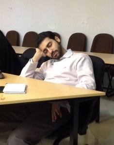 شدت خستگی