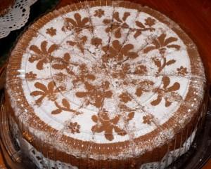 کیک طرحدار 1